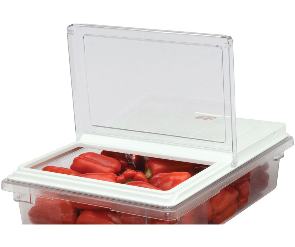 Rubbermaid 330500 ProSave Dual Action Food Box Lid - 18 inch x 12 inch (FG330500CLR)