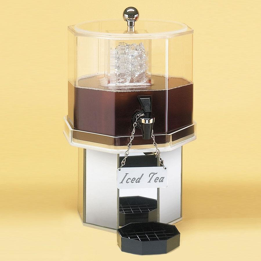 Cal Mil 972-2-24 Mirror Finish Pacifica Beverage Dispenser 2 Gallon