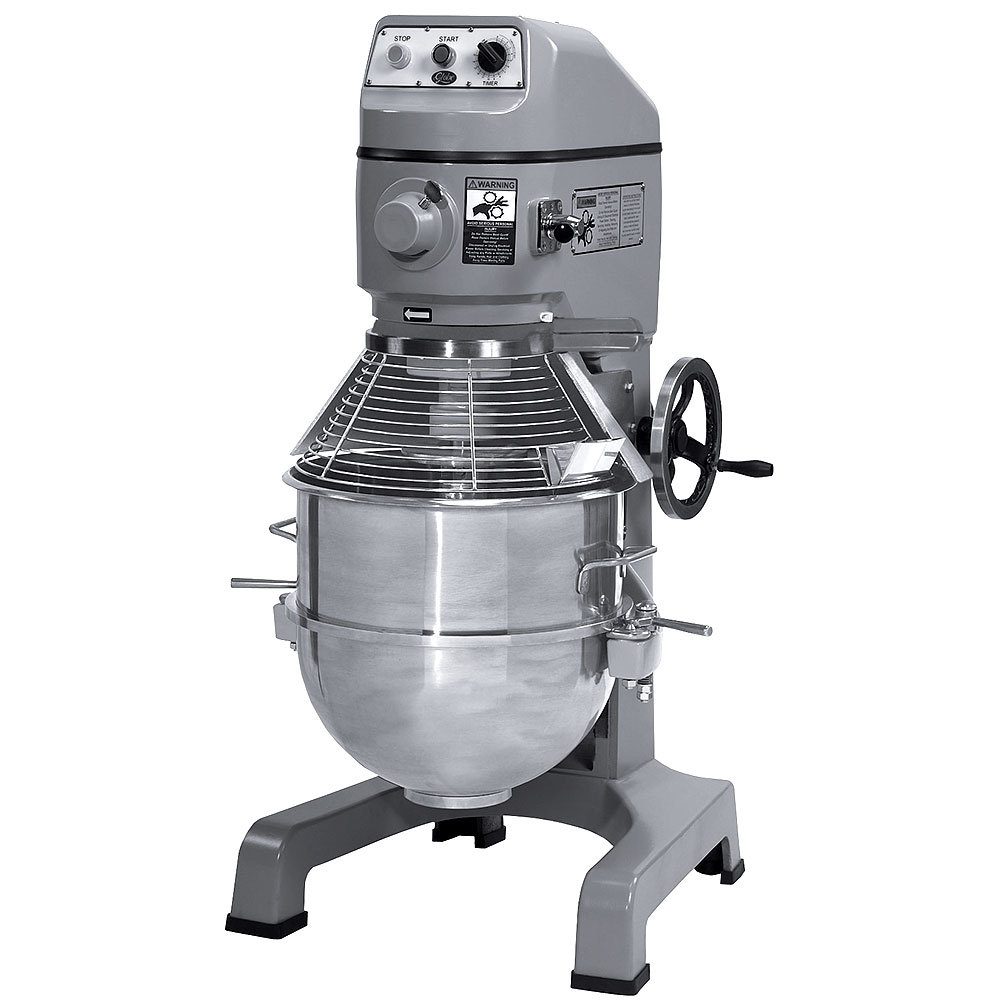 Globe 220 Volts Globe SP60 Gear Driven 60 Qt. Commercial Stand Mixer - 3 hp Motor at Sears.com