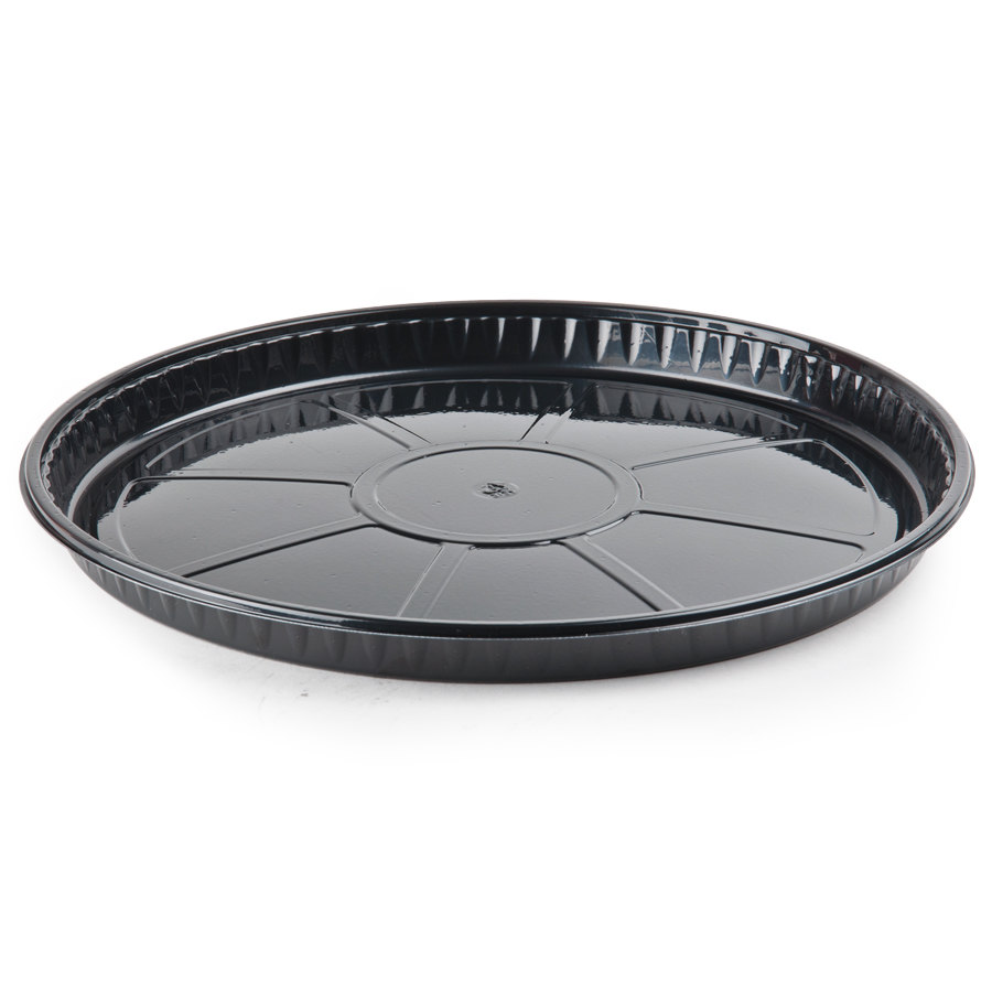 "Genpak 55C12 Bake 'N Show Dual Ovenable 12 3/4"" x 1"" Round Pizza / Cake / Cookie Tray - 100 / Case at Sears.com"