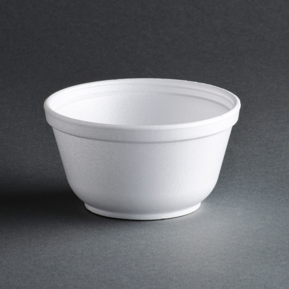 Dart 10B20 10 oz. Insulated White Customizable Foam Bowl - 1000 / Case at Sears.com