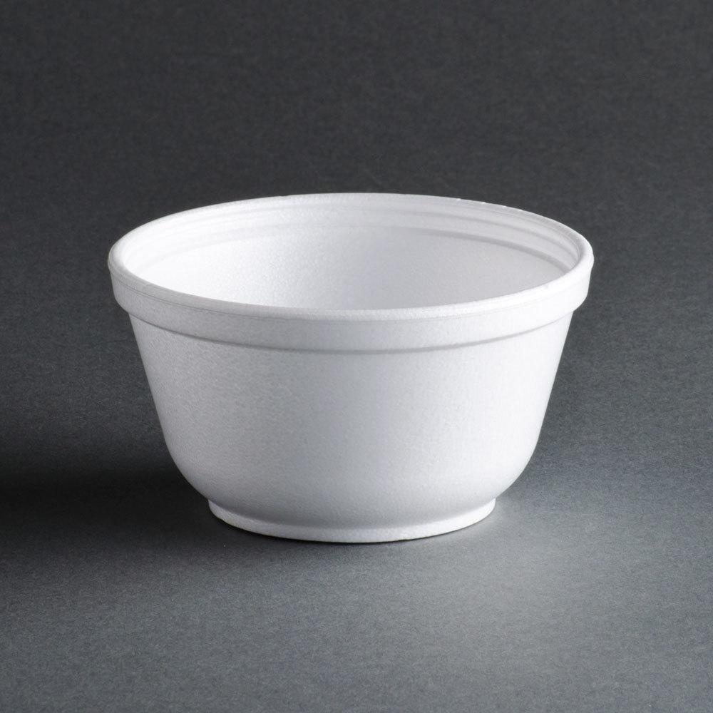 Dart 10B20 10 oz. Insulated White Customizable Foam Bowl - 1000 / Case at Sears.com