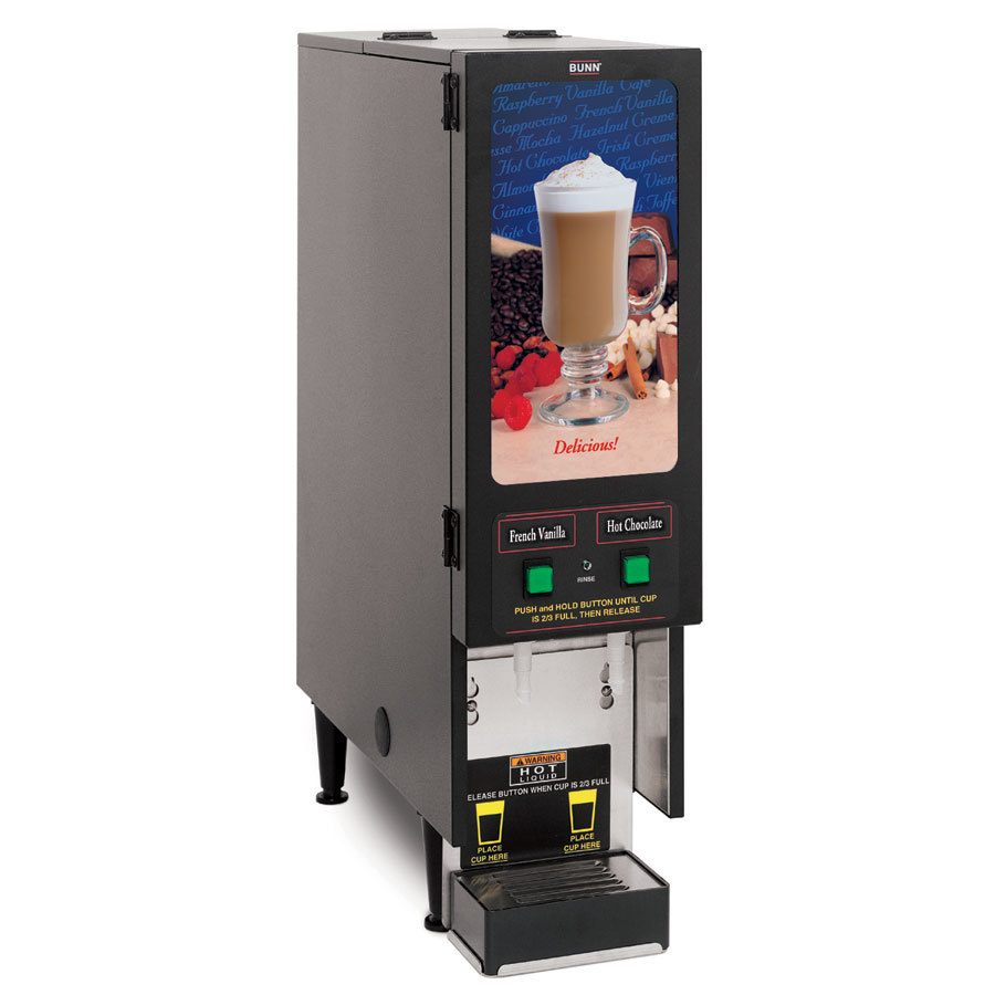 Bunn FMD-2 BLK Fresh Mix Cappuccino / Espresso Machine Hot Beverage Dispenser with 2 Hoppers 120V (Bunn SET00.0207) at Sears.com