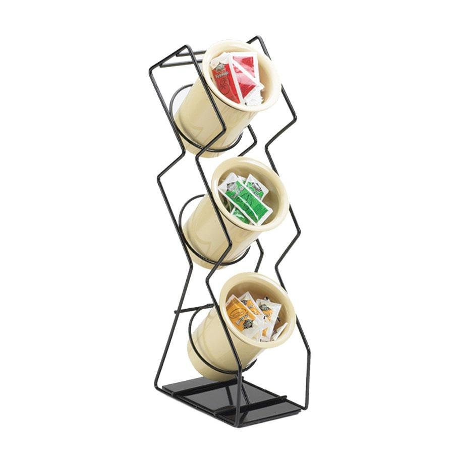 Cal Mil 1025-3-13 Black 3-Hole Space Saver Wire Silverware Display at Sears.com