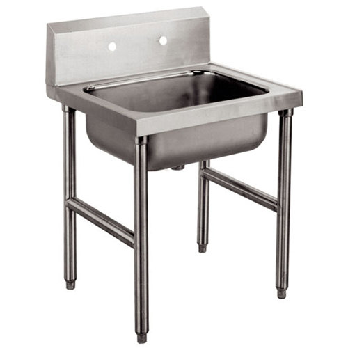 Advance Tabco 8-OP-16 Conventional Service Sink Leg Mounted - 24""
