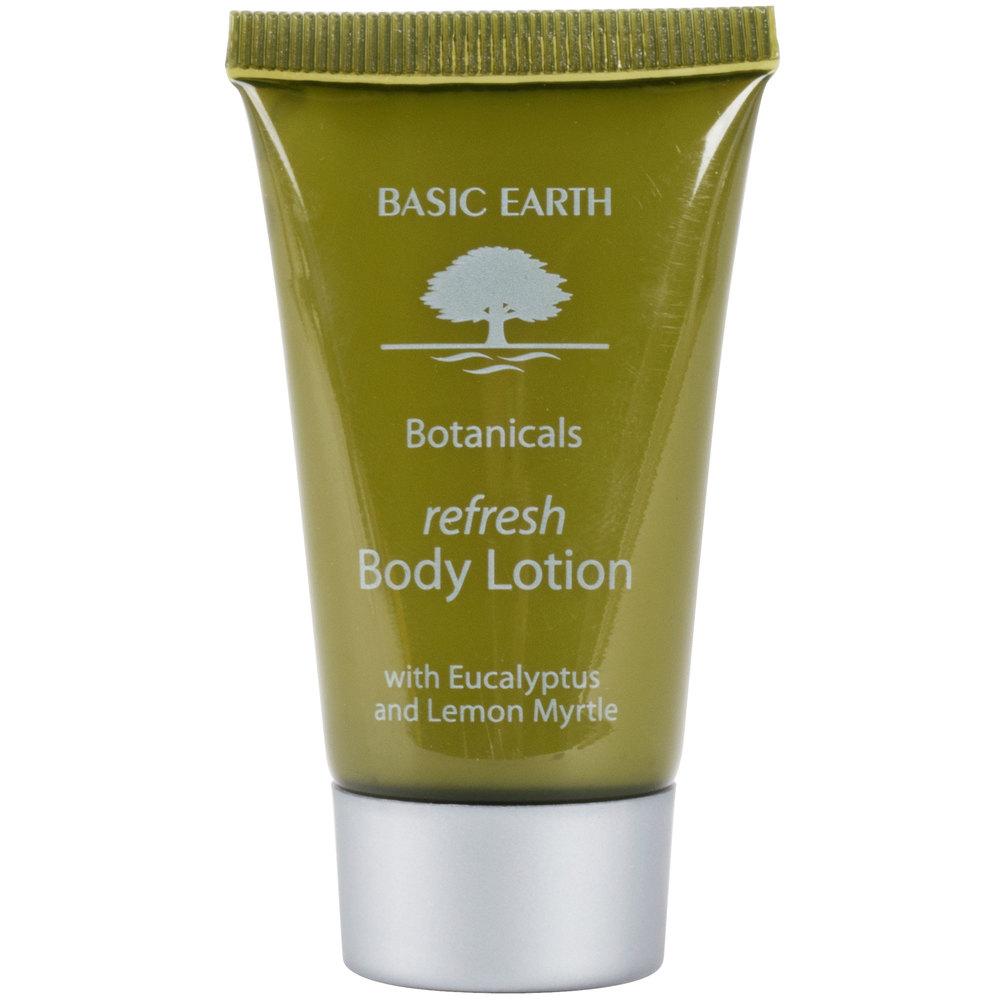 Basic earth botanicals hotel and motel body lotion 1 oz for Motel one shampoo