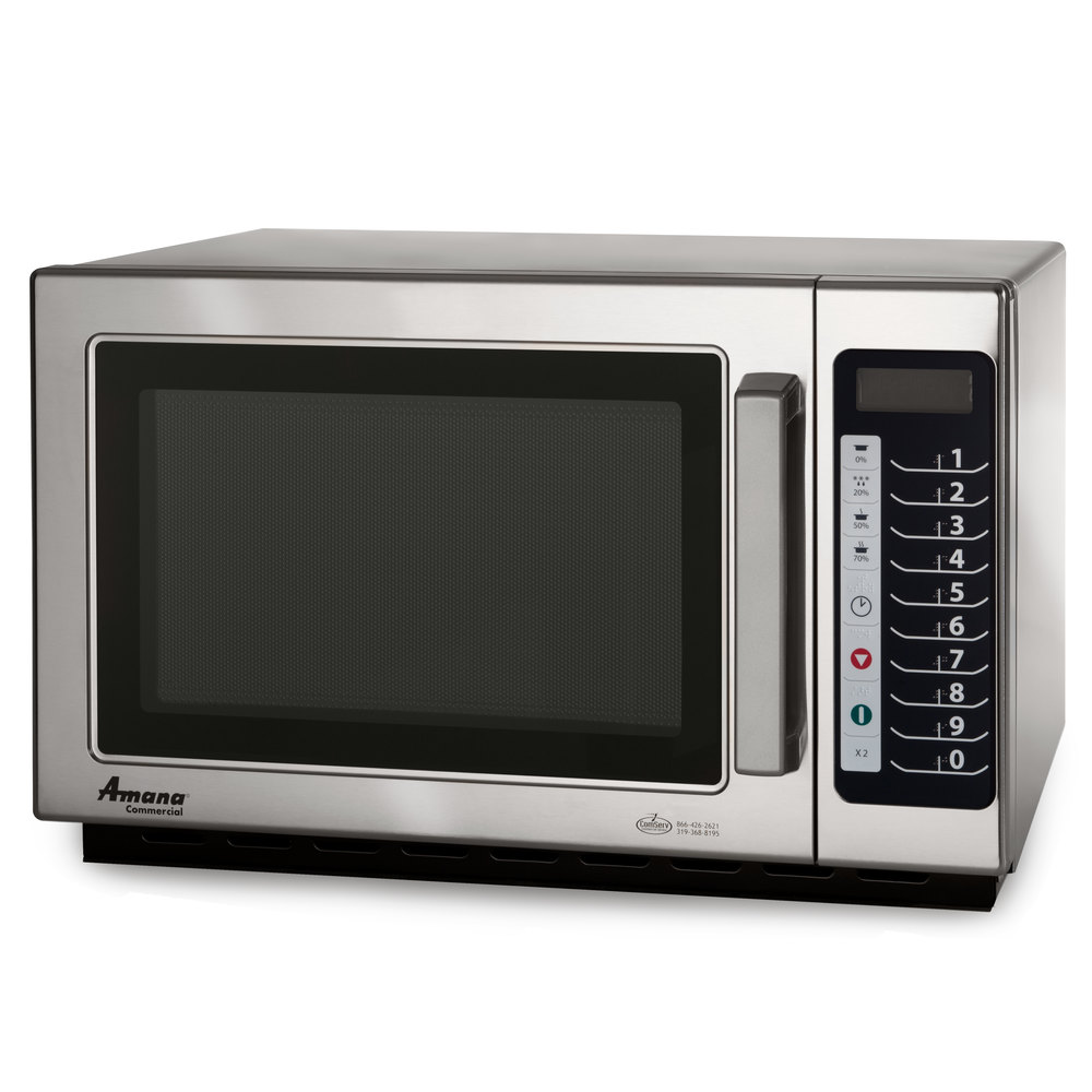 Amana Commercial Microwaves Amana RCS10TS Stackable Commercial Microwave with Push Button Controls - 120V at Sears.com