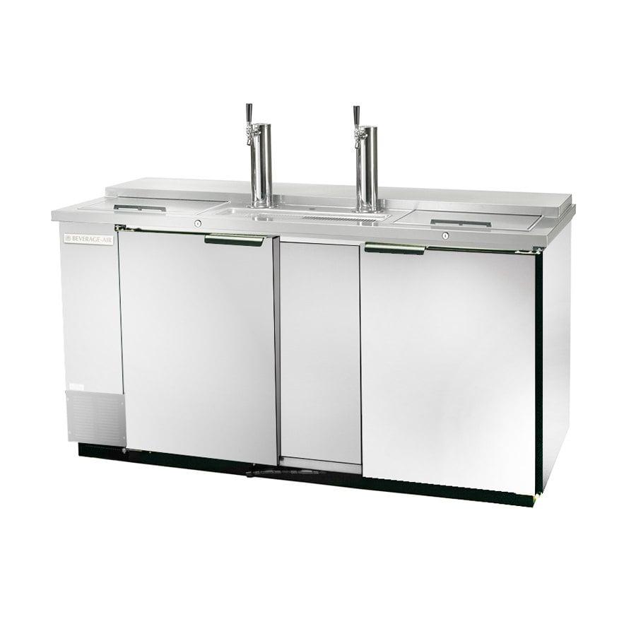 "Beverage Air (Bev Air) DD58C-1-S Club Top and Stainless Steel Front Beer Dispenser 59"" - 3 Keg Kegerator at Sears.com"