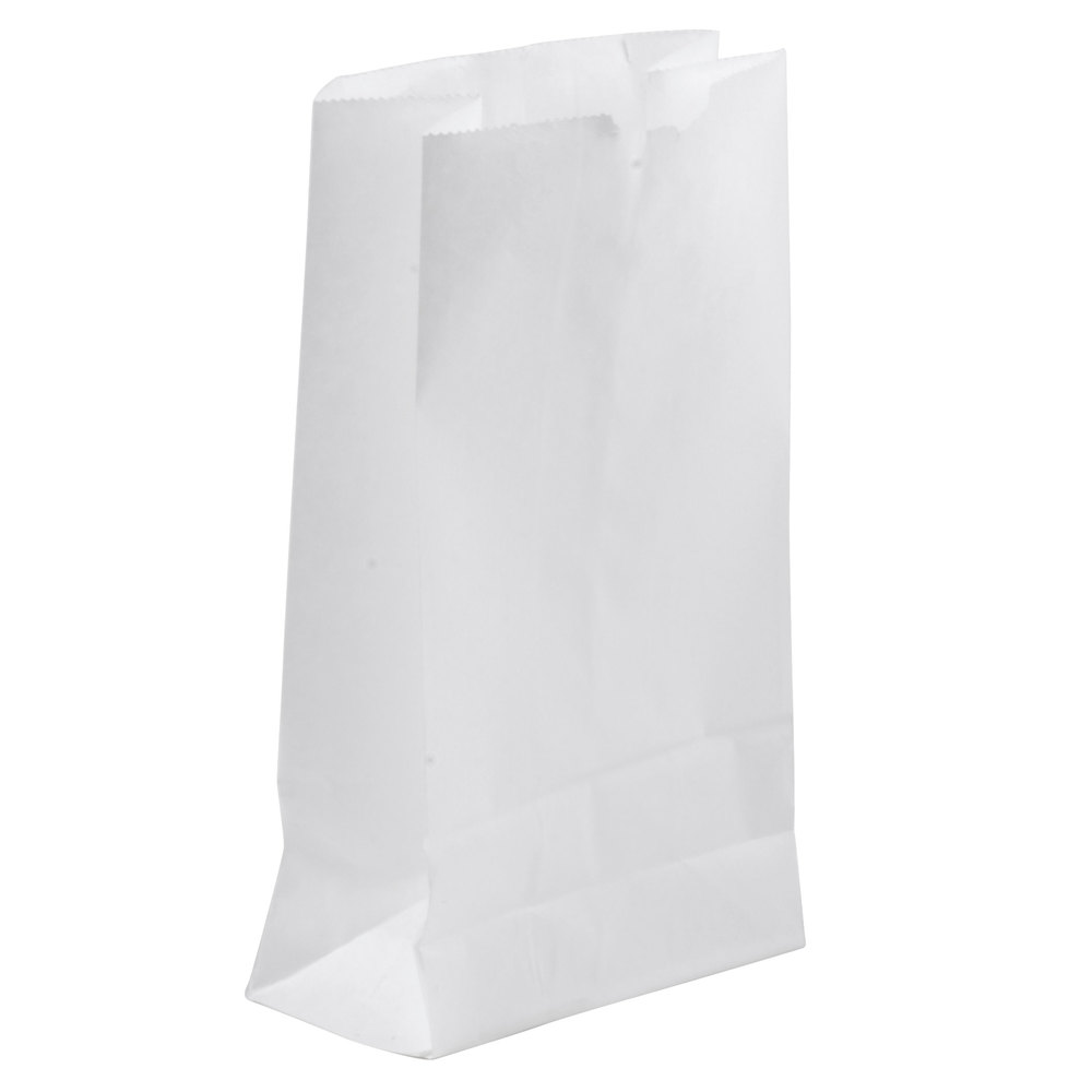 lb. White Paper Bag 500/Bundle