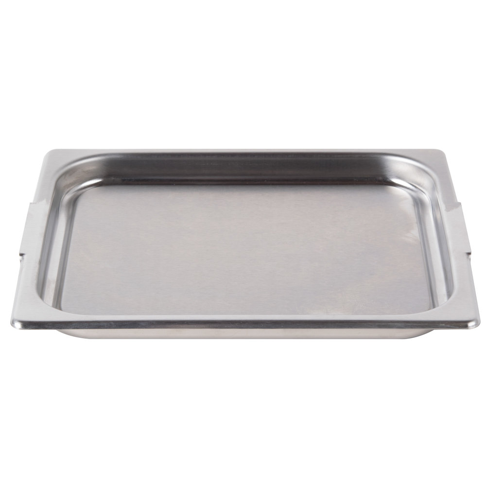 Vollrath 75025 Super Pan 1/2 Size Stainless Steel Food Transport Cover