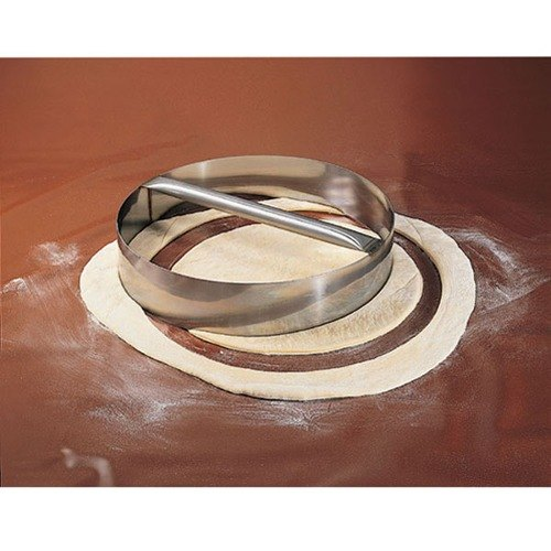 "American Metalcraft RDC19 19"" x 3"" Stainless Steel Dough Cutting Ring"
