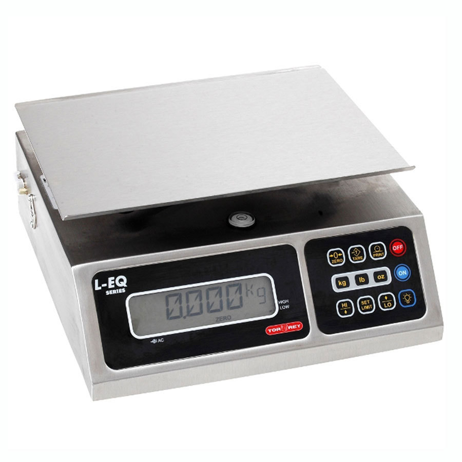 Tor Rey L-EQ-5/10 10 lb. Digital Portion Control Scale, Legal for Trade