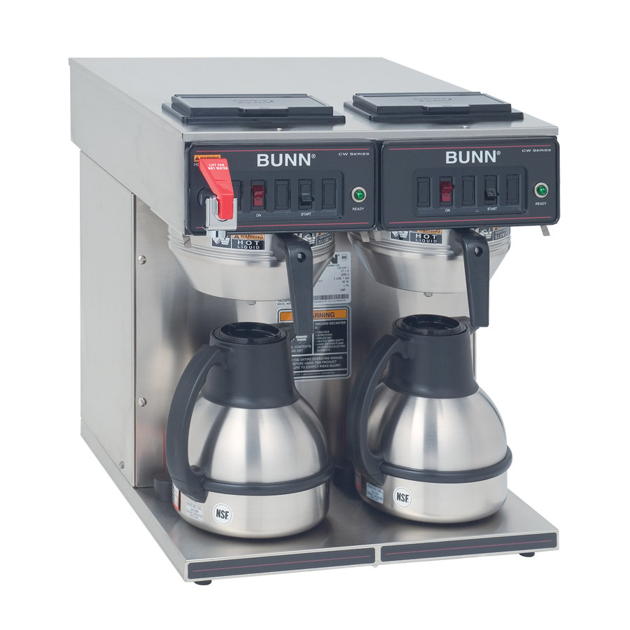 Bunn CWTF Twin-TC Thermal Carafe Coffee Brewer - Automatic 120/240V (Bunn 23400.0047)