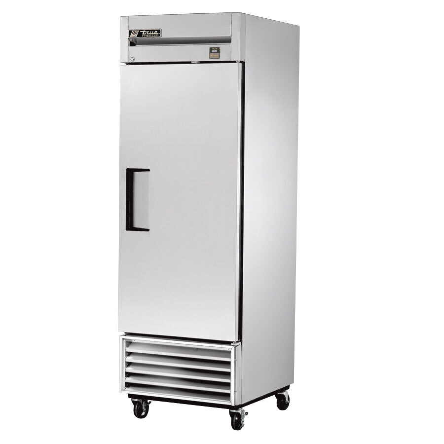 True TS-23F 1 Section Bottom Mounted Reach-In Freezer - All Stainless Steel