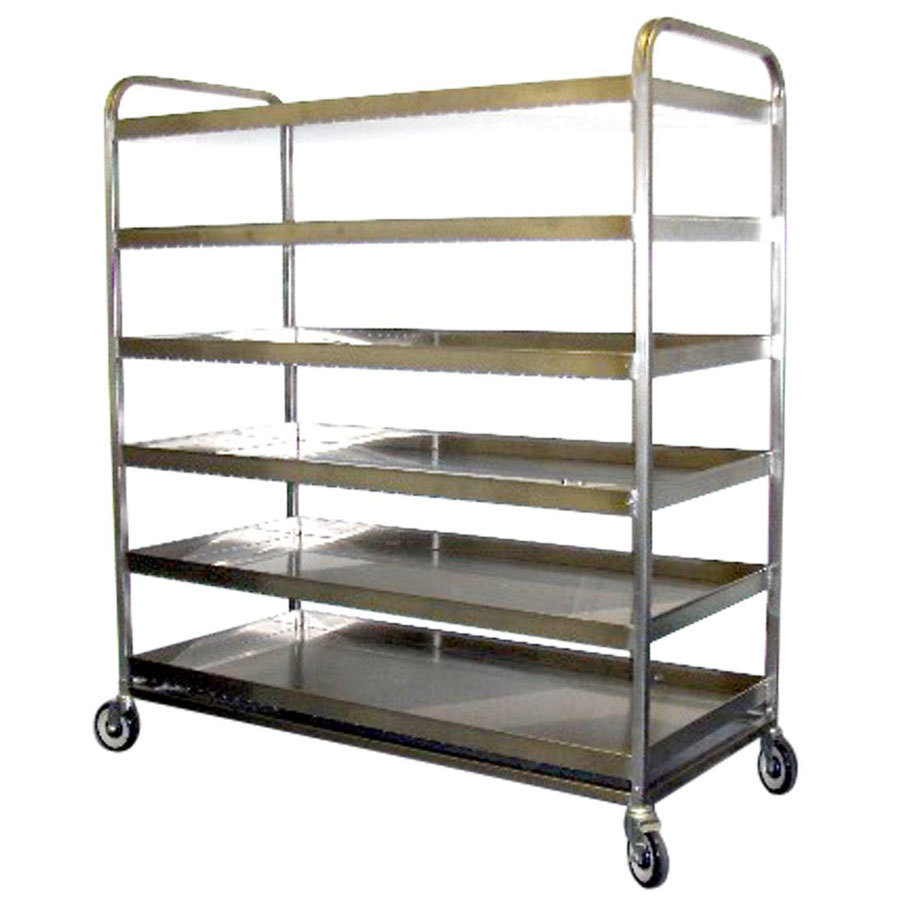 Winholt WHSSBX-RACK-2655-SS Stainless Steel Display Tray Storage & Drying Rack
