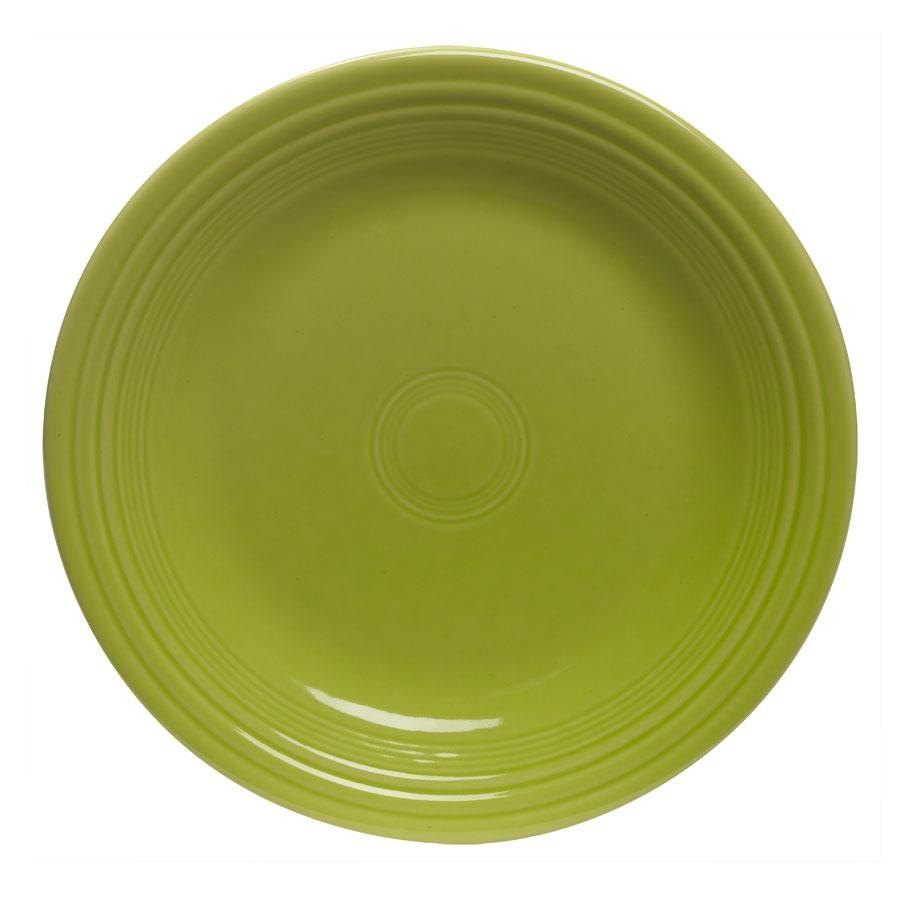 Homer Laughlin 464332 Fiesta Lemongrass 7 1/4 inch Salad Plate - 12 / Case