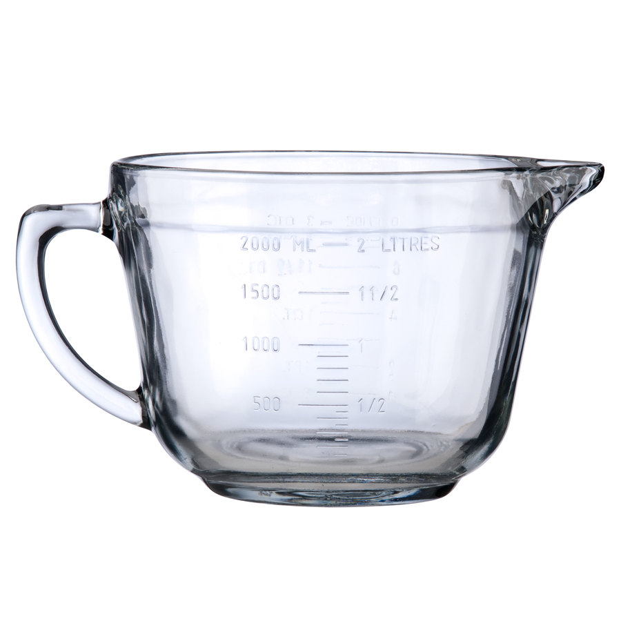 Anchor Hocking 81605E 2 Quart Glass Measuring Cup (81605E)