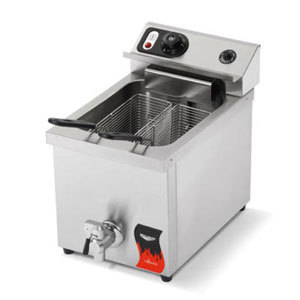 Vollrath 40709 15 lb. Commercial Countertop Deep Fryer 220V
