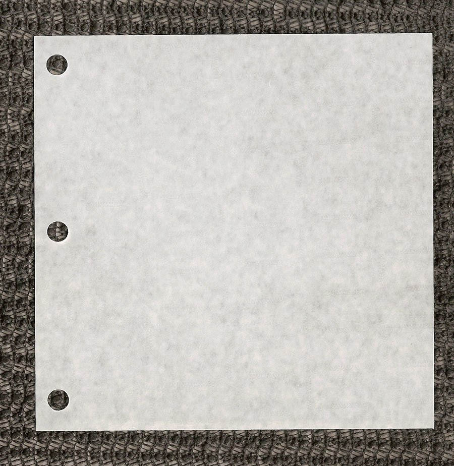 "5"" x 5"" Patty Paper with Holes for PM-1 Hamburger Press 777 / Pack at Sears.com"