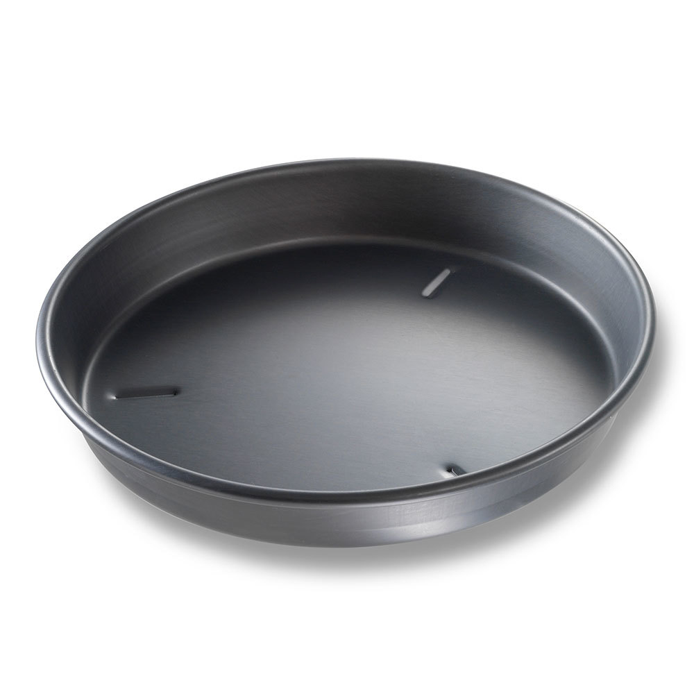 "Chicago Metallic 91105 10"" x 1 1/2"" BAKALON Pre-Seasoned Aluminum Deep Dish Pizza Pan at Sears.com"