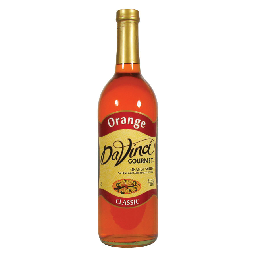 DaVinci Gourmet Orange Classic Coffee Flavoring Syrup