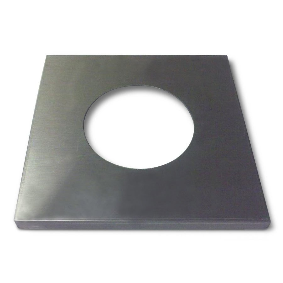 "APW Wyott 55704 Adapter Plate with 6 1/2"" Opening"