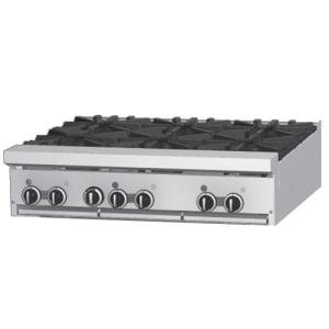 "Garland / US Range Liquid Propane Garland GF36-2G24T 2 Burner Modular Top 36"" Gas Range with Flame Failure Protection and 24"" Griddle - 88,000 BTU at Sears.com"