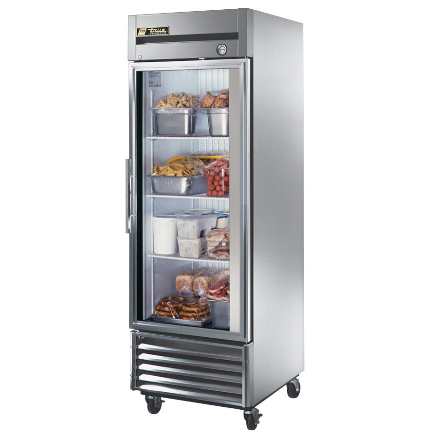 True Refrigeration True T-23FG 1 Section Glass Door Bottom Mounted Reach-In Freezer at Sears.com