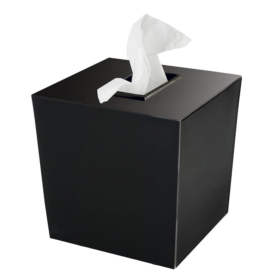 Bathroom Collections Bs Spa9b Spa Black Hotel Tissue Box Cover