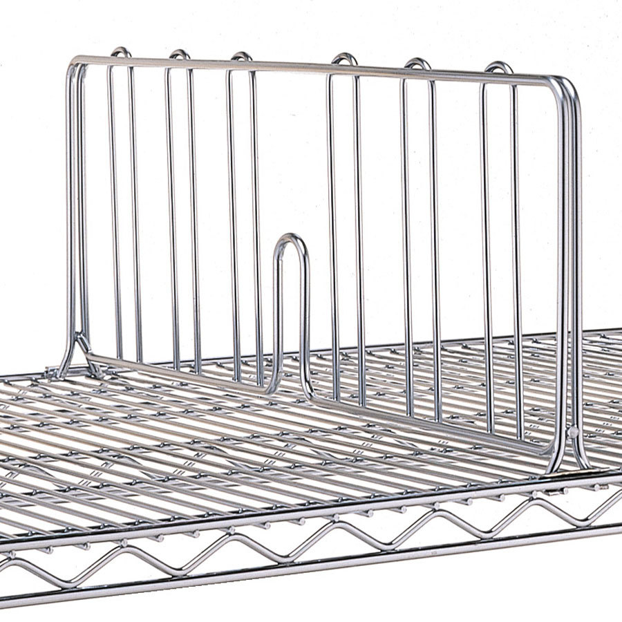 metro dd14c 14 chrome wire shelf divider. Black Bedroom Furniture Sets. Home Design Ideas