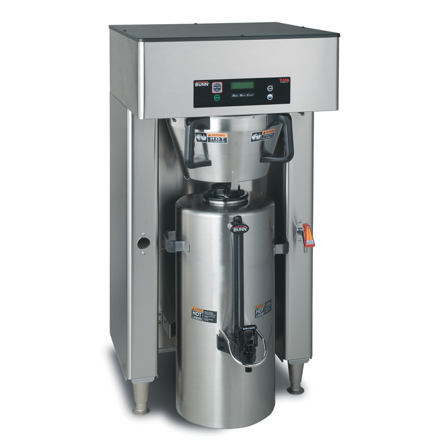 Bunn Titan Single Brewer High Volume Coffee Brewer 120/208V (Bunn 39300.0000)