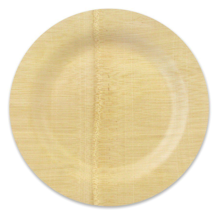 bamboo paper plates Palm leaf plates are a stylish and unique alternative to other disposable tableware on the market stronger and more natural than corn or potato paper & bamboo.