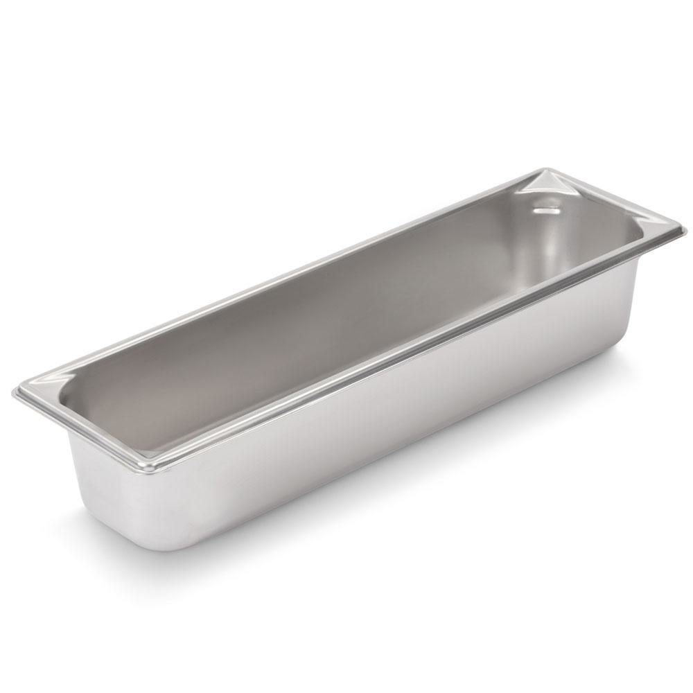 Vollrath Super Pan V 30542 1/2 Size Long Stainless Steel Anti-Jam Steam Table / Hotel Pan - 4 inch Deep