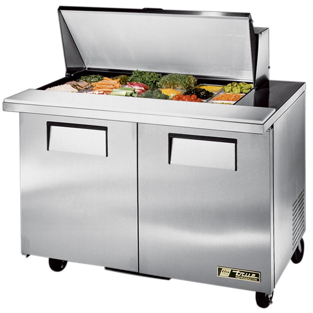 True Tssu 48 18m B 48 Quot 2 Door Mega Top Refrigerated