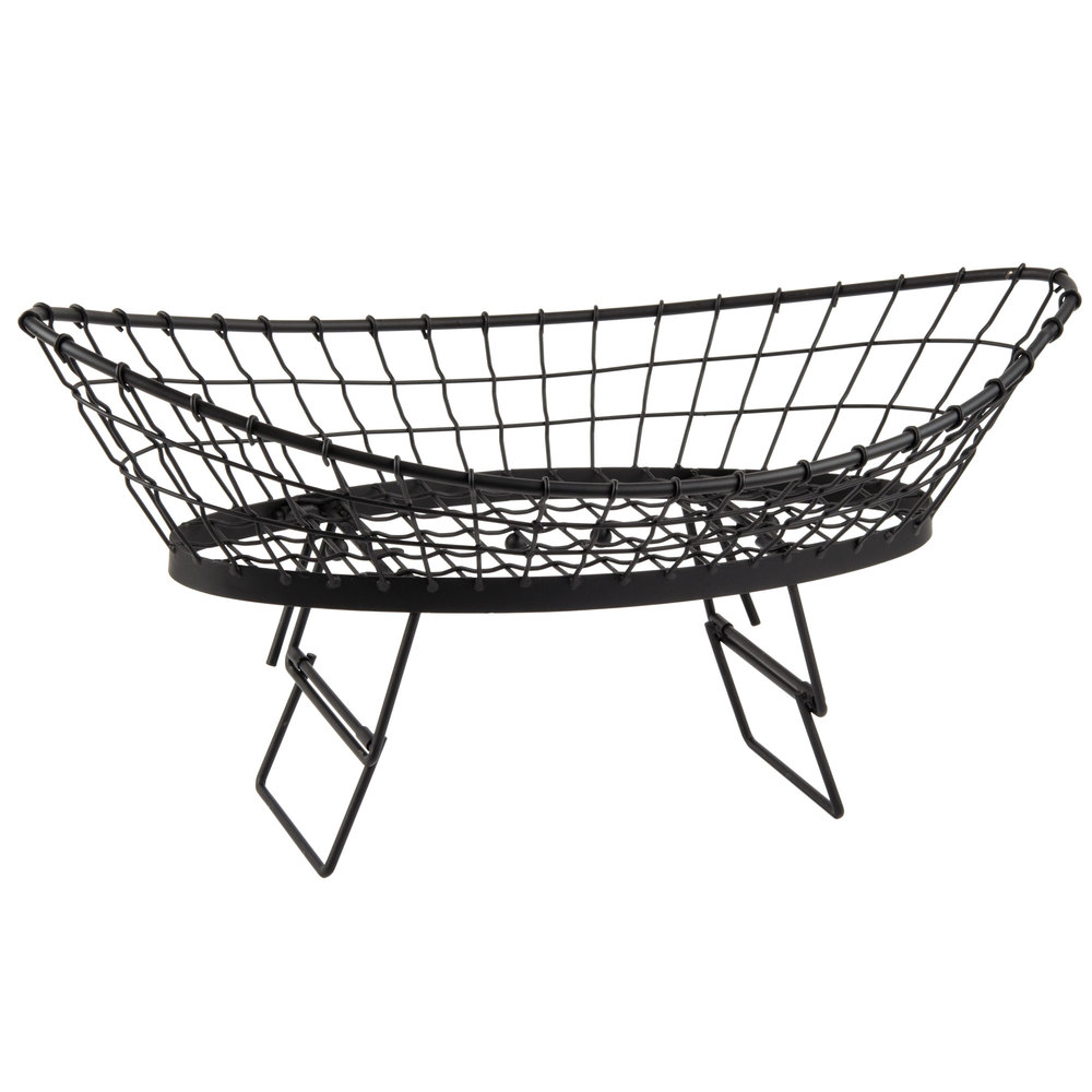 "Tablecraft GMT2412 Grand Master Transformer Oblong Basket - 24"" x 12"" x 6"""