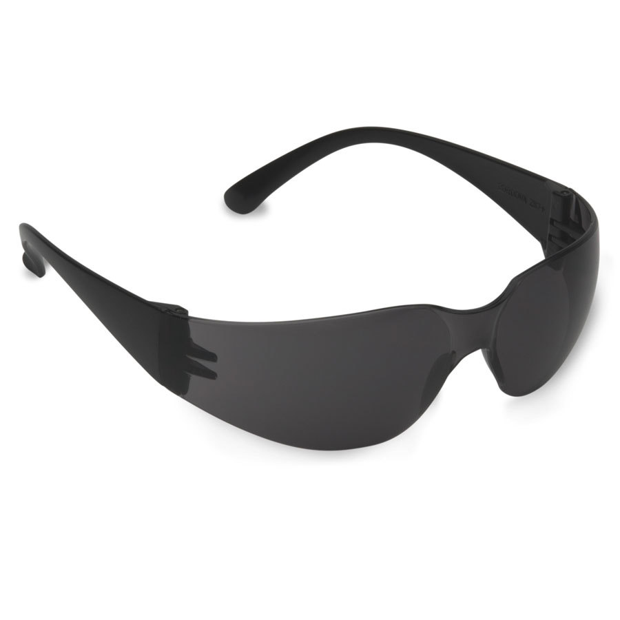 Bulldog Scratch Resistant Safety Glasses / Eye Protection - Black with Gray Lens - 1 Pair at Sears.com