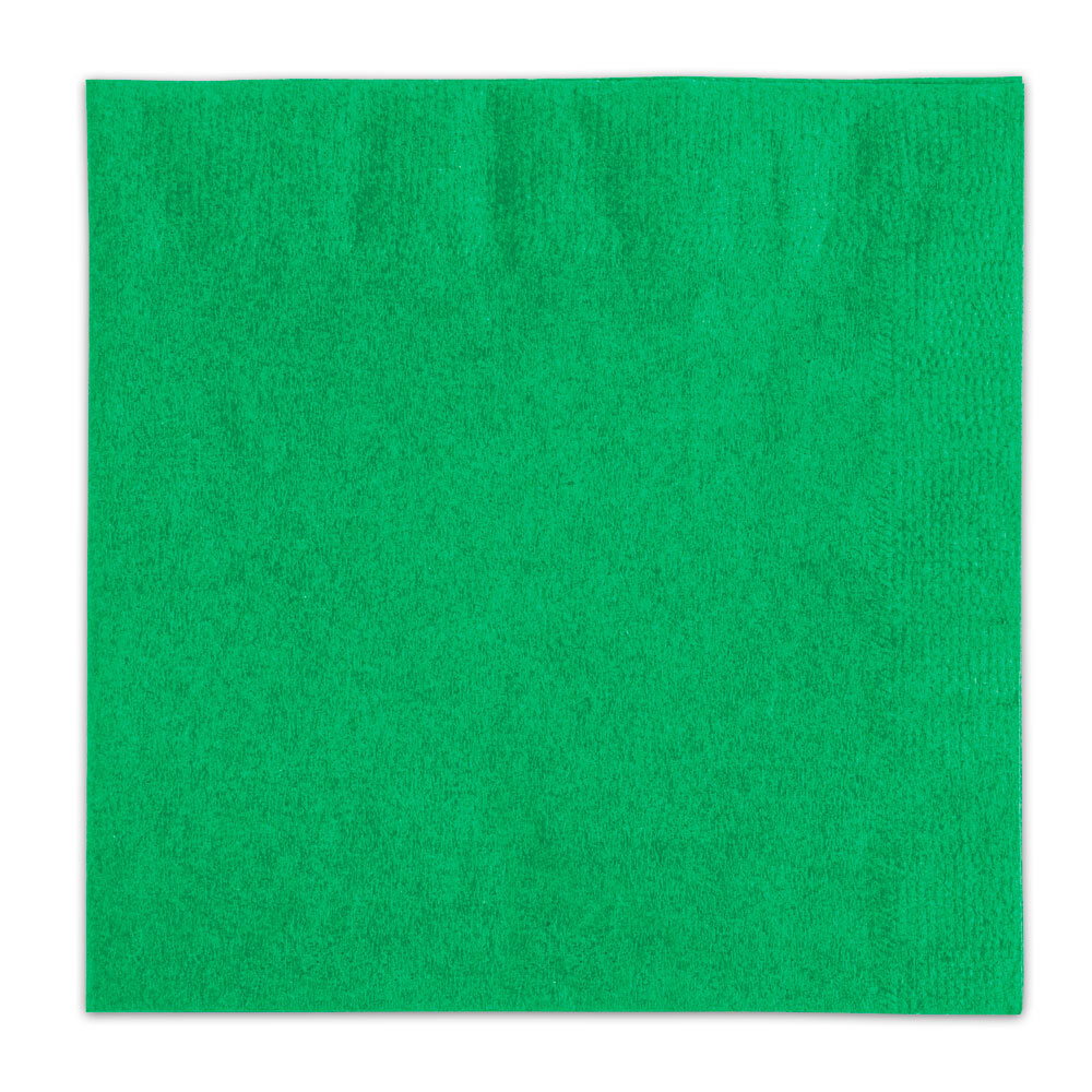 Choice Green Beverage / Cocktail Napkin - 1000 / Case