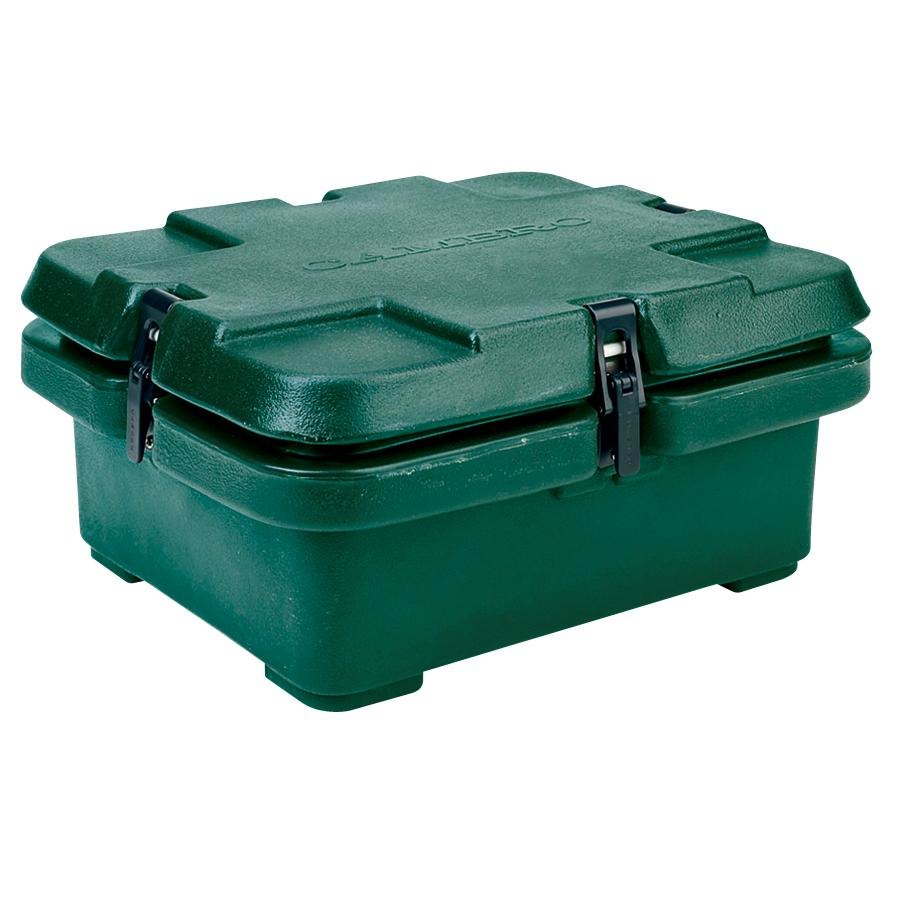 Cambro 240MPC519 Camcarrier Green Food Pan Carrier Insulated Top Loading 4 inch Deep