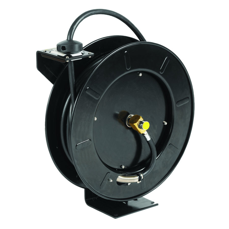 T & S Brass and Bronze Works T&S 5HR-242-01-GH Equip Hose Reel with Garden Hose Adapter and Spray Valve - 50' Hose at Sears.com