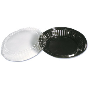 Wilkinson 10 inch Pie Take Out Container with Low Dome Lid 20/Pack
