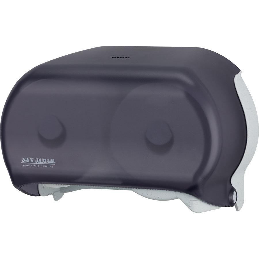 San Jamar R3600tbk Versatwin Double Roll Standard Toilet