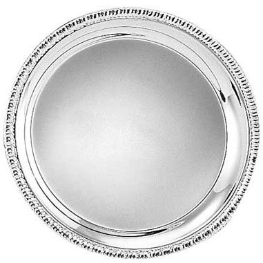 Tabletop classics tr 11241 18 round stainless steel tray for Html tr border