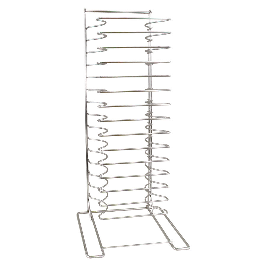 American Metalcraft 19029 15 Slot Pizza Pan Rack