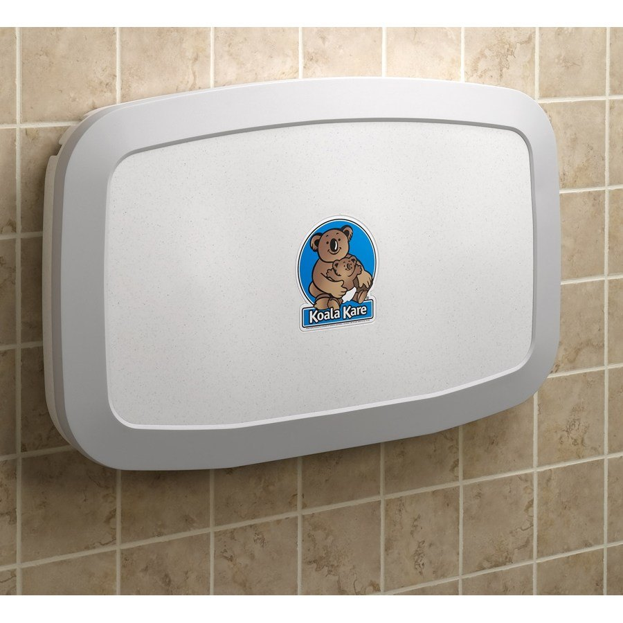 New Koala Kare Kb200 05 Horizontal Baby Changing Station Wall Mounted
