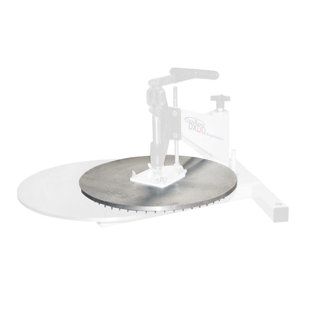 DoughXpress DD-8 8 inch Upper Docking Platen for DXDD Series Dough Dockers