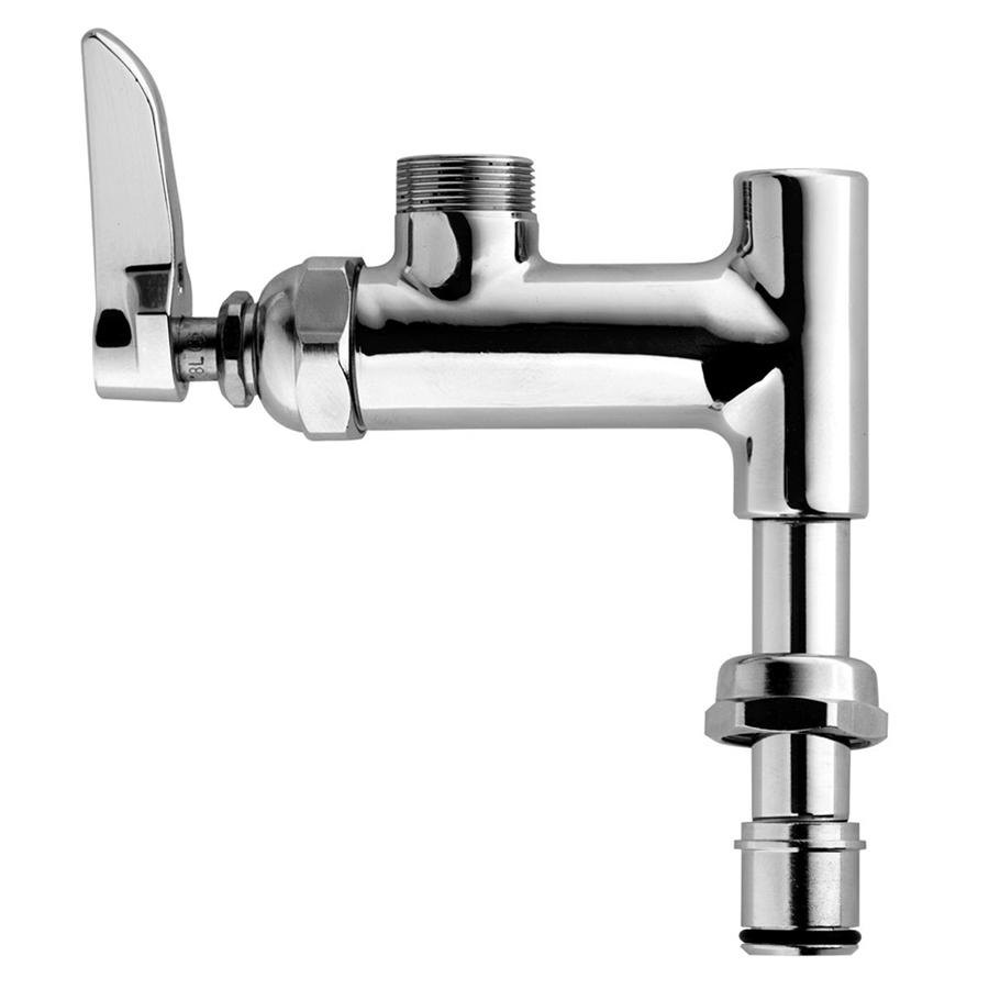 t s brass commercial kitchen faucets t amp s b 0155 lnez add on faucet for easyinstall pre rinse 27975