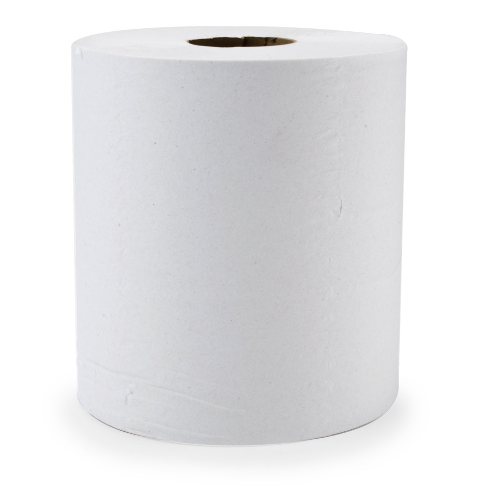 Merfin 725 2-Ply Center Pull Paper Towel 600' Roll Green Seal Certified 6/Case