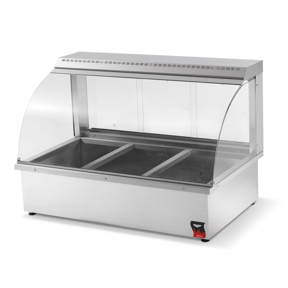 Vollrath 40732 Cayenne Portable Bain Marie Hot Display Case