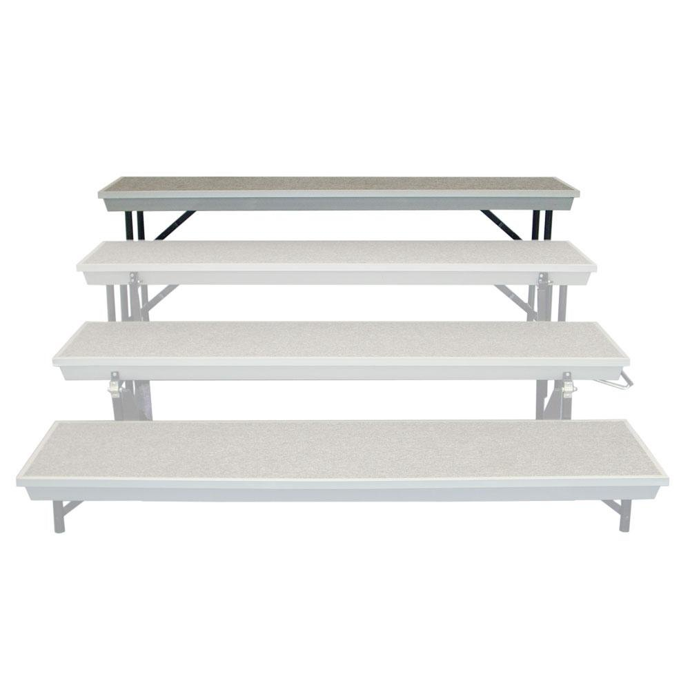 National Public Seating TPRA Level-4 Add On for Trans-Port TPR72 Tapered Riser
