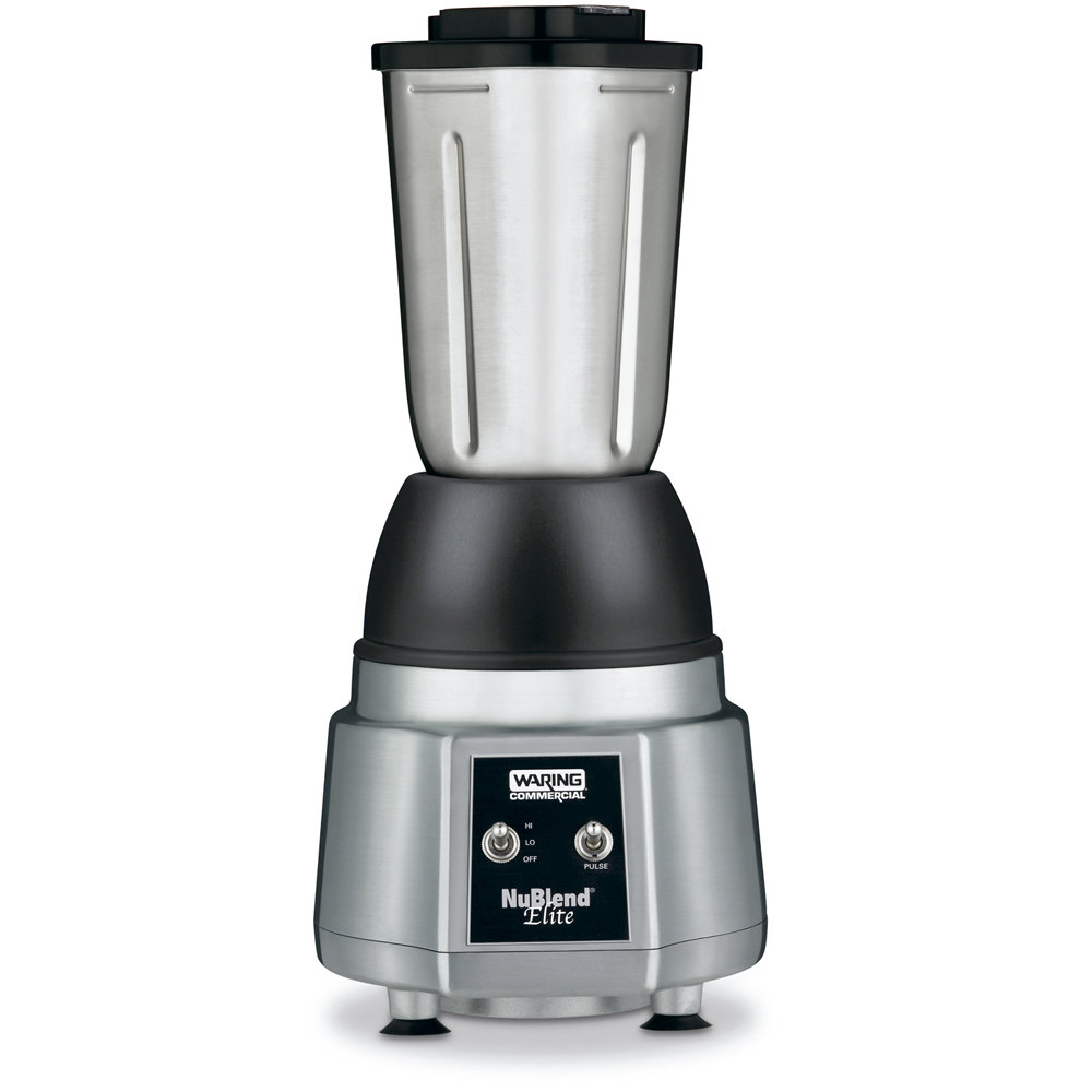 Stainless Steel Blender ~ Waring bb s nublend elite commercial blender with oz